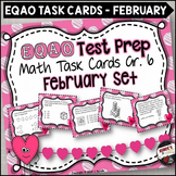 EQAO Math Task Cards - Grade 6 - February Set