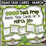 EQAO Math Task Cards - Grade 6 - March Set
