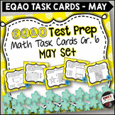 EQAO Math Task Cards - Grade 6 - May Set
