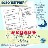 EQAO Multiple Choice Test Prep Helper!