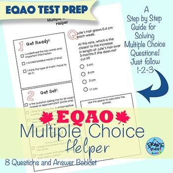EQAO Multiple Choice Test Prep Helper!