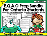 EQAO Prep Activities Grade Three: Reading exercises perfect for Ontario students