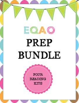 EQAO Reading Prep Kit Bundle -- Distance Learning