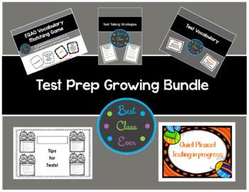 Test Prep Growing Bundle! (EQAO)
