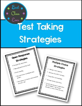 EQAO Test Prep: Strategies for Test Taking