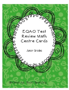 EQAO test review task cards
