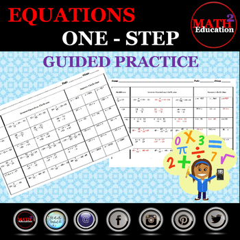 Solving One-Step Equations Guided Practice
