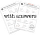 EQUATIONS and INEQUALITIES - Algebra Skiddles