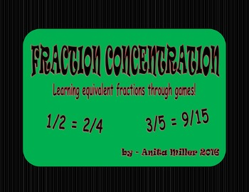 EQUIVALENT FRACTION CONCENTRATION