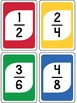 EQUIVALENT FRACTION MATCHING CARDS