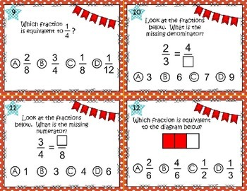 Equivalent Fraction Scoot