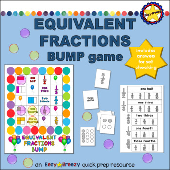 EQUIVALENT FRACTIONS bump game