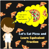 EQUIVALENT FRACTIONS (google slide) fun and visual