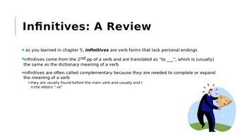 ER 6: Gender and Additional Infinitive Uses