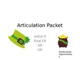 ER, AR. R Articulation Practice