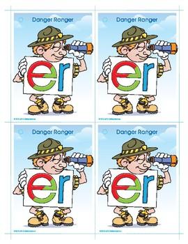 ER (Danger Ranger) Word Buddy Card