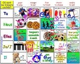 Où sont les trésors cachés? (REGULAR ER, IR, RE verbs)  FRENCH