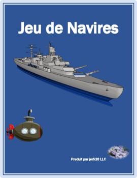 ER, IR & RE verbs in French Bataille Navale Battleship game
