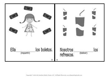 ER & IR Spanish Verbs MagnetMat Fun