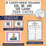 ER, IR, UR QR Code Task Cards