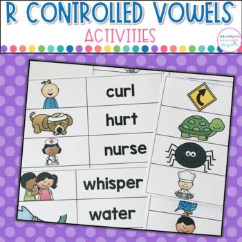 ER IR UR- R Controlled Vowels