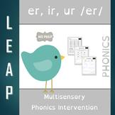ER, IR, UR - R Controlled Vowels - No Prep Phonics