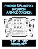 ER IR UR Sound - Phonics Fluency Assessment
