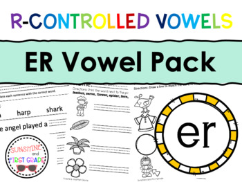 ER R-Controlled Vowel Pack