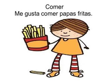 ER Spanish verbs for elementary school