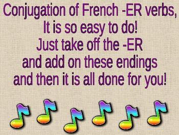 ER Verb Conjugation Powerpoint