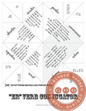 ER Verb conjugator- fortune teller size