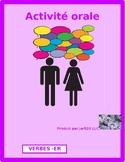 ER Activities / ER verbs in French Partner Interview
