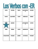 ER Verbs in Spanish Verbos ER Present tense Bingo