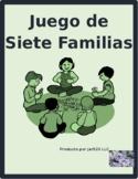 ER Verbs in Spanish Verbos ER Juego de Siete Familias