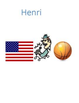ER activities / ER verbs in French Detectives speaking activity