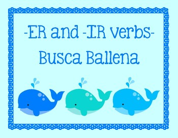 ER and IR verbs - Busca Ballena