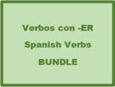 ER Verbs in Spanish Verbos ER Bundle