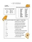ER verb practice
