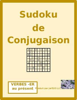 ER Verbs in French Verbes ER Present Tense Sudoku