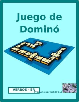 ER verbs in Spanish Dominoes