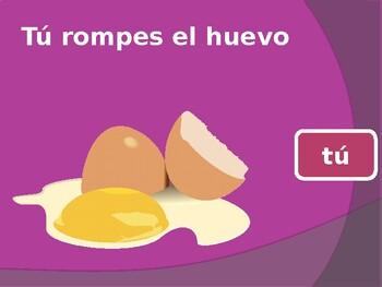 ER verbs in Spanish PowerPoint