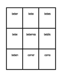 ER Verbs in Spanish Verbos ER Present tense Spoons game / Uno game
