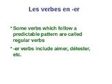 ER verbs powerpoint notes