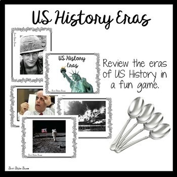 ERAS OF US HISTORY REVIEW GAME FOR  US HISTORY STAAR EOC