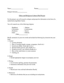 ERC Ipad/Book Creator Project Info Sheet + Rubric