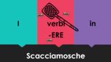ERE Verbs in Italian Scacciamosche Flyswatter Game Google Slides