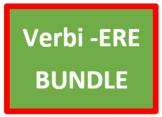 ERE Verbs in Italian Verbi ERE Bundle