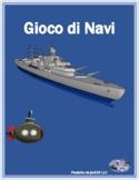 ERE verbs in Italian Battaglia Navale Battleship game