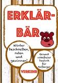 ERKLÄRBÄR Spiel: Verkehrsmittel, Deutsch/German transport, Vocabulary,Wortschatz