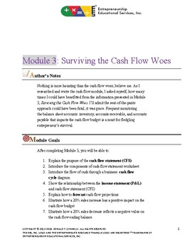 ERO - Financial Literacy Training - 03 Surviving Cash Flow Woes - Textbook